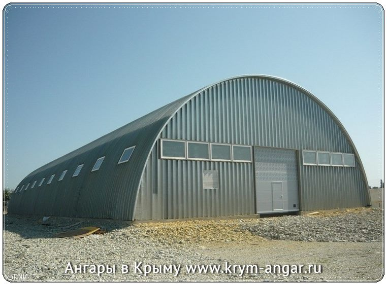 Строительство быстровозводимых ангаров в Севастополе