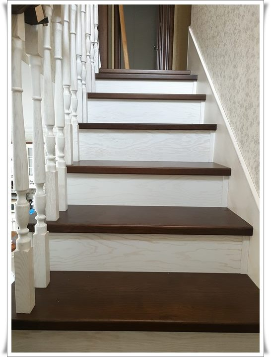 Установка деревянных лестниц