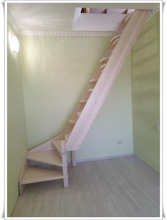 Деревянная лестница цена