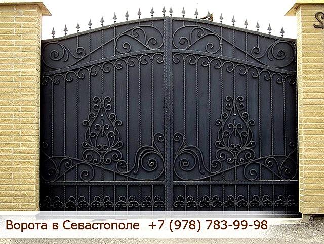 Кованые ворота, Севастополь, Крым