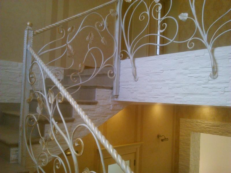 Ковка лестницу дом