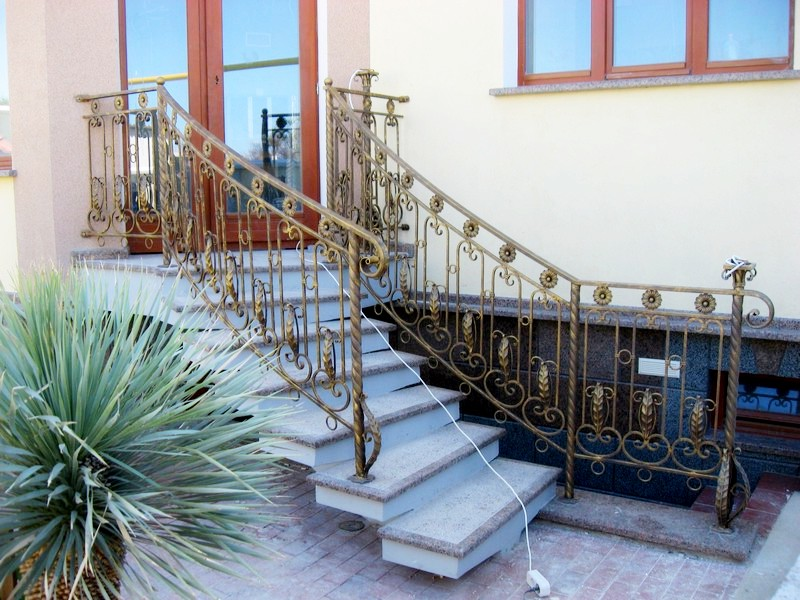 Лестница ковка