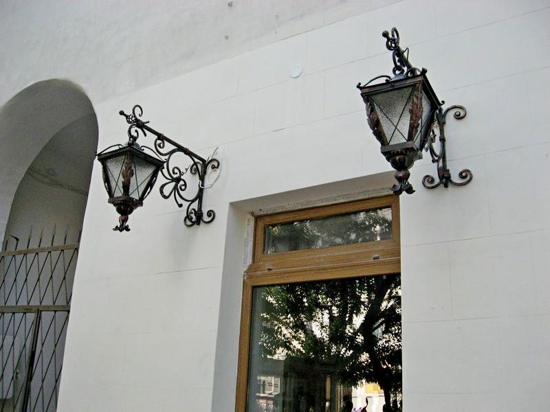 Ковка фонари