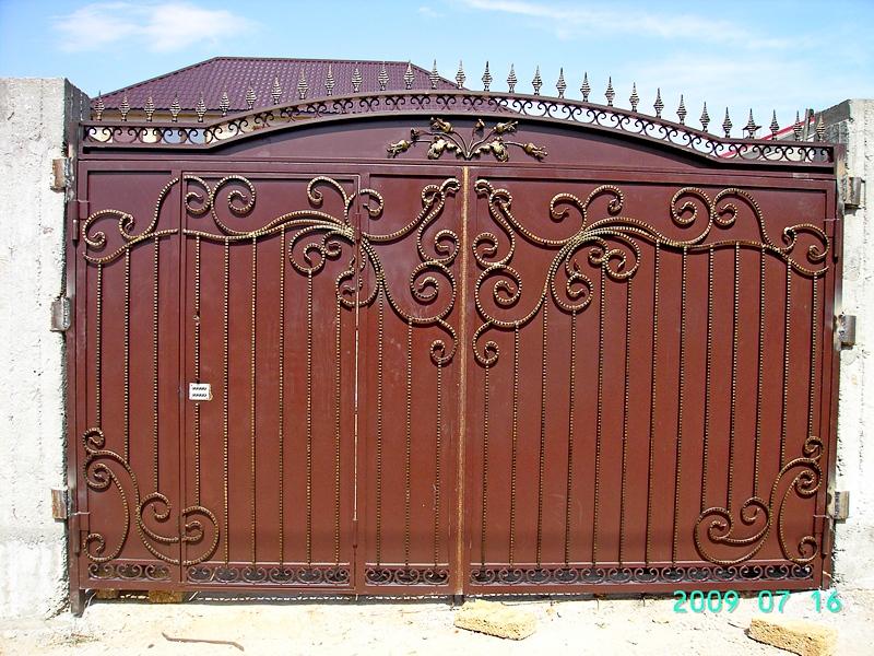 Кованые ворота фото Севастополь Крым