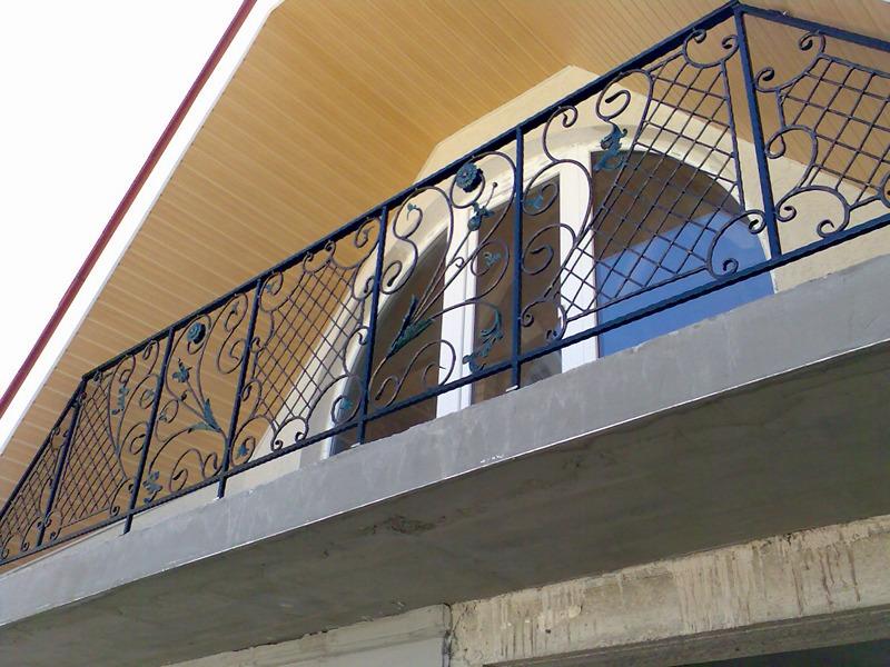Кованые ограждения балконов Севастополь Крым
