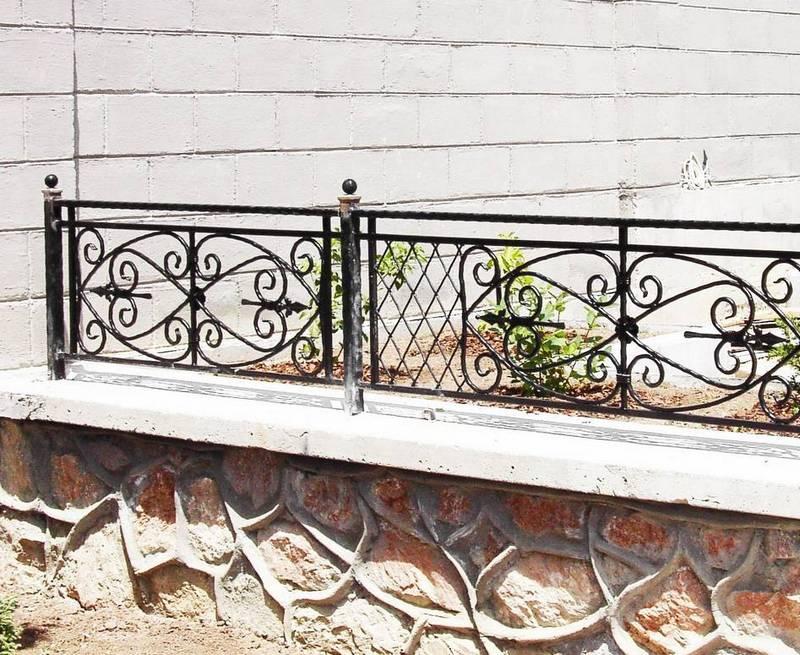 Кованые заборы ограждения дома Севастополь Крым