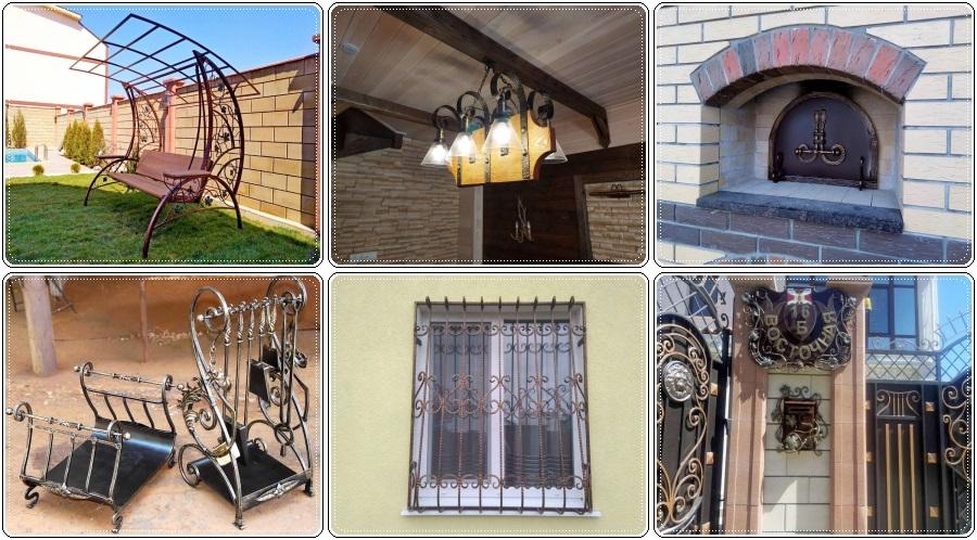 Кованые изделия интерьера Севастополь, Крым