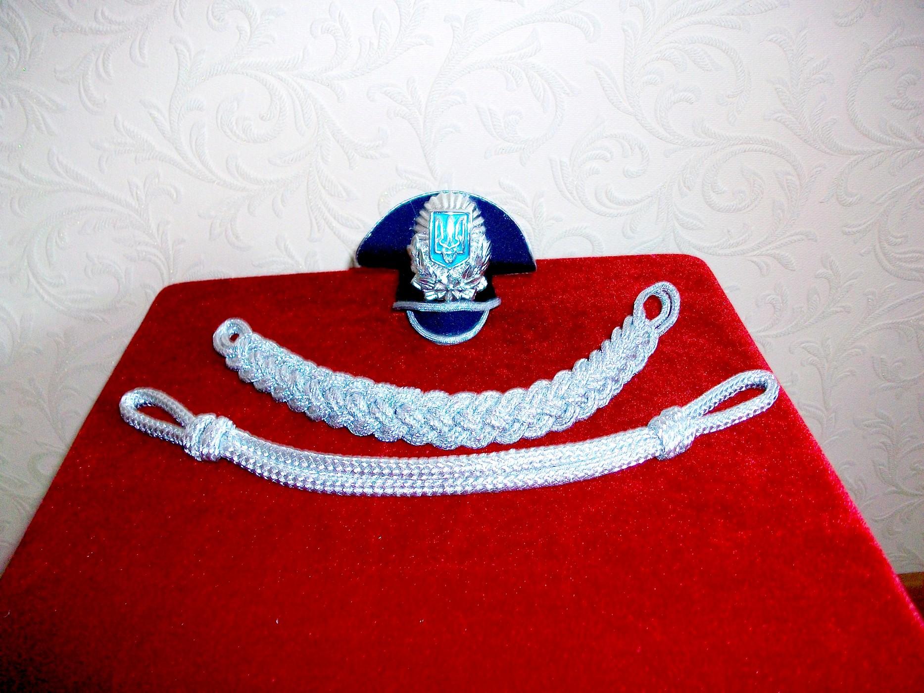 Позумент-шнур-МВД-метанить-серебро