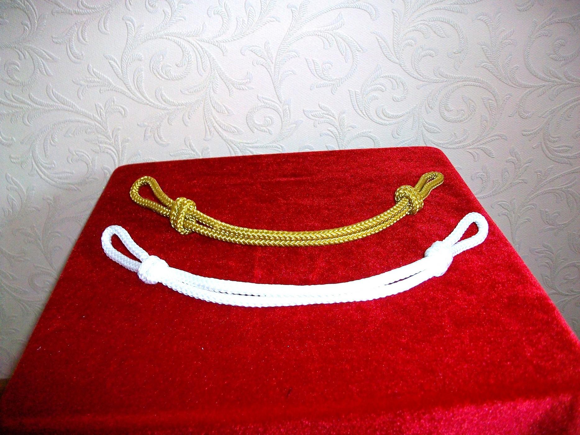 Позумент-шнур-шёлк-белый-желтый