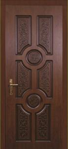 Дверь ламинированная, миланский орех
