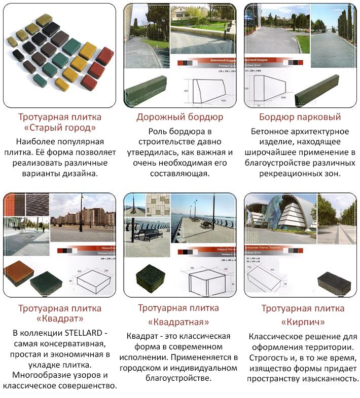 Производители тротуарной плитки в Севастополе