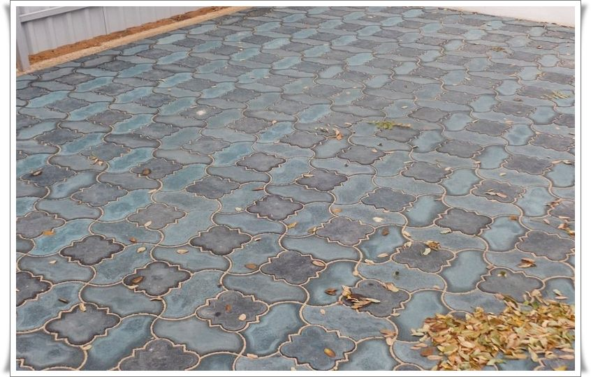 Производство тротуарной плитки Крым