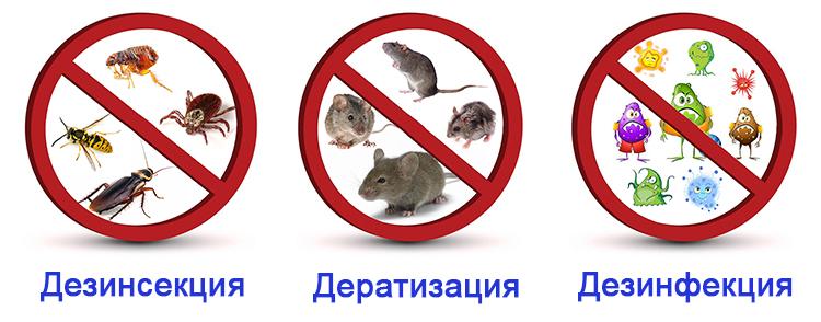 Современные средства дезинфекции, дезинсекции, дератизации Севастополь, Крым