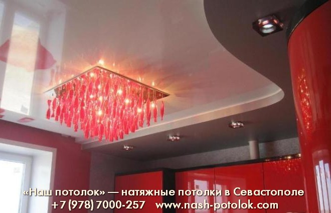 Наш потолок. натяжные потолки Севастополя.
