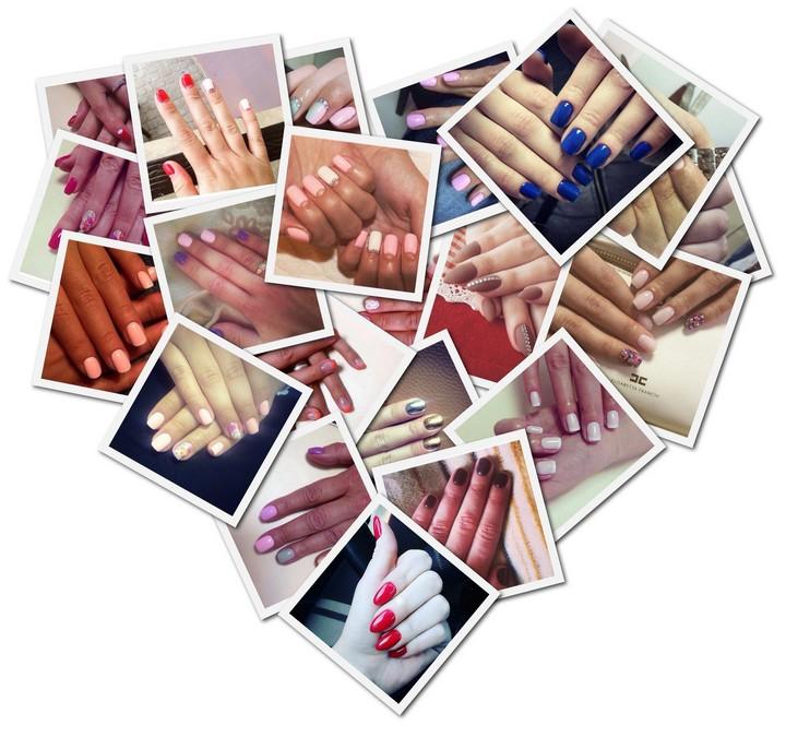Ногти шеллак