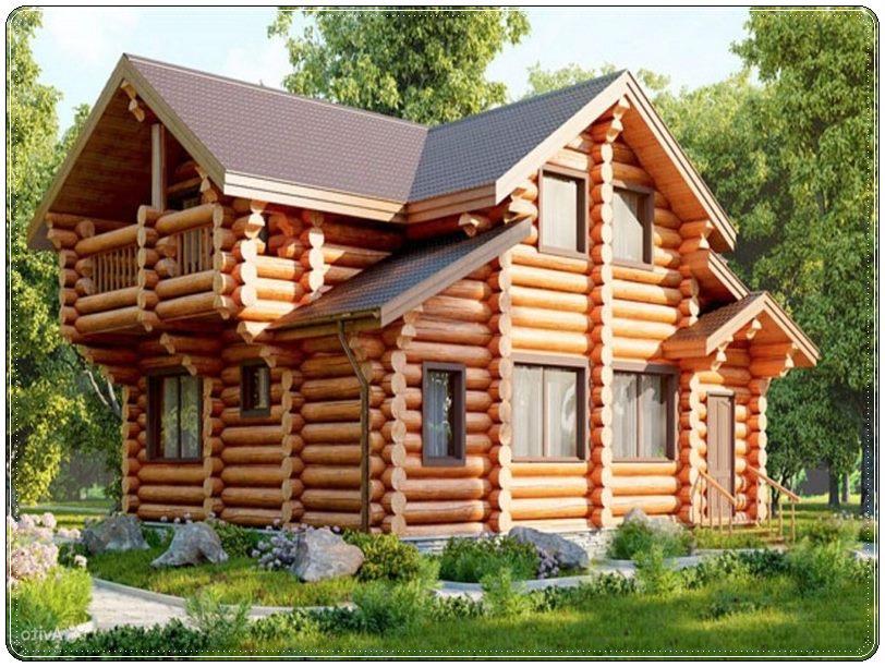 Дома из оцилиндрованного бревна Севастополь