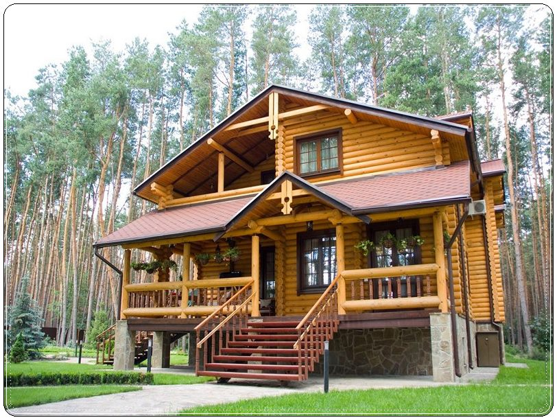 Проекты домов из бревна Севастополь