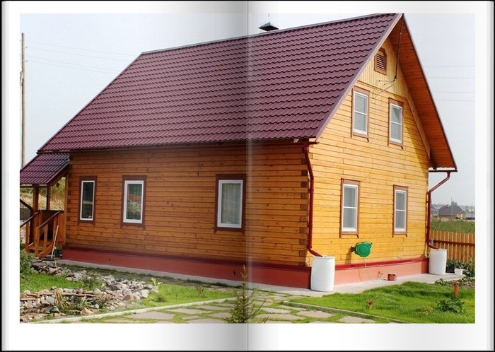 Дома из клееного бруса в Крыму