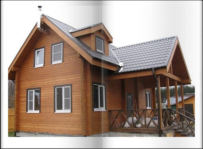 Купить дом из бруса Крым