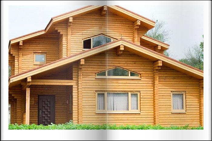 Купить деревянный дом из бруса в Крыму