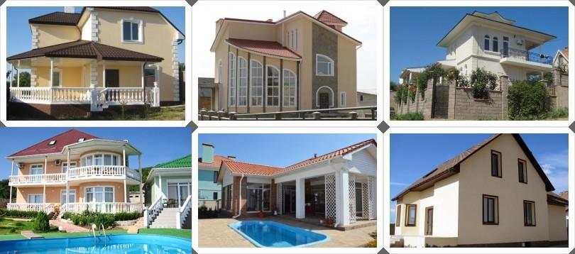 Строительство индивидуальных домов в Крыму
