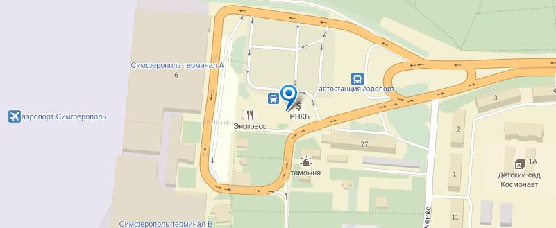 Такси Симферополь аэропорт