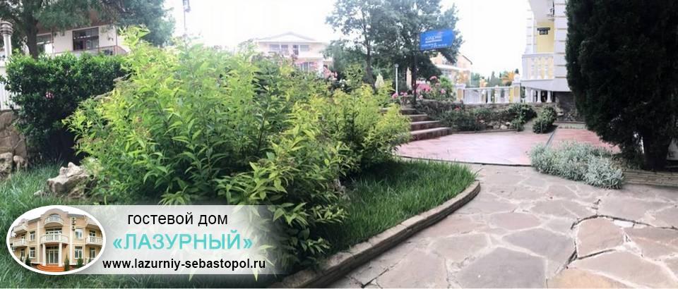 Частный отдых в Учкуевке Гостевой дом Лазурный Учкуевка