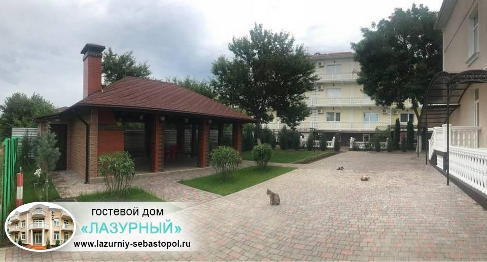 Отдых в Севастополе Гостевой дом Лазурный Учкуевка