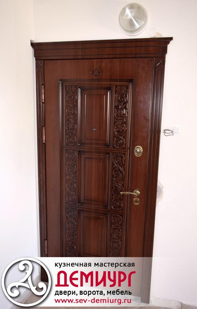 Двери входные металлические купить в Севастополе