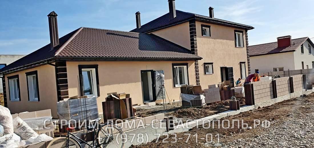 Дачный дом Севастополь строительство