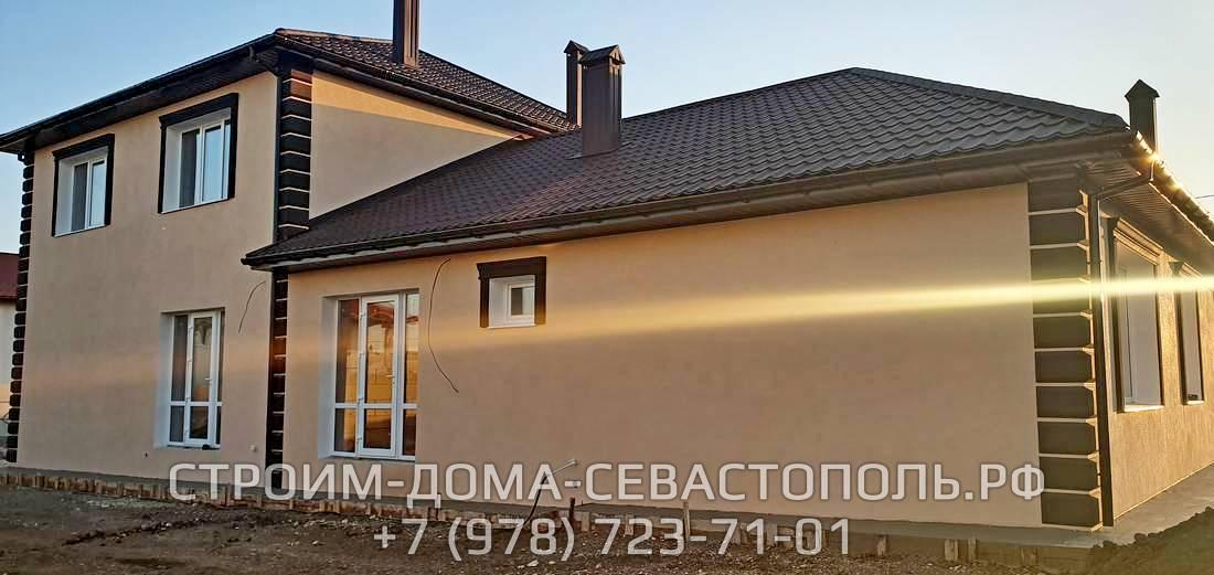 Строительство частного дома под ключ в Севастополе