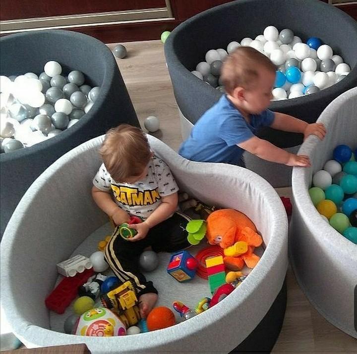 Сухие бассейны с шариками для детей купить