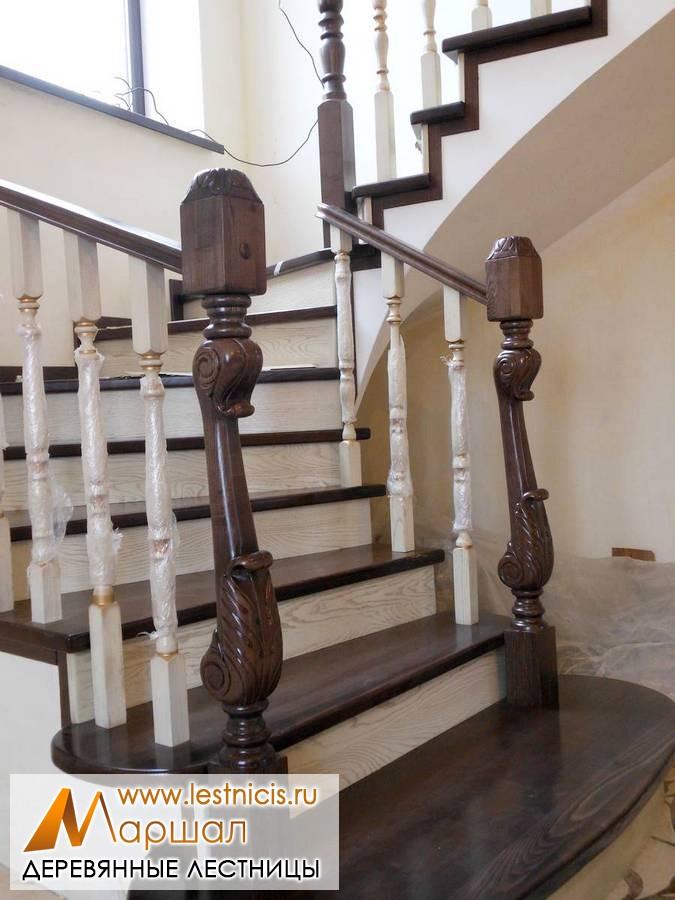 Деревянные лестницы на второй этаж Севастополь